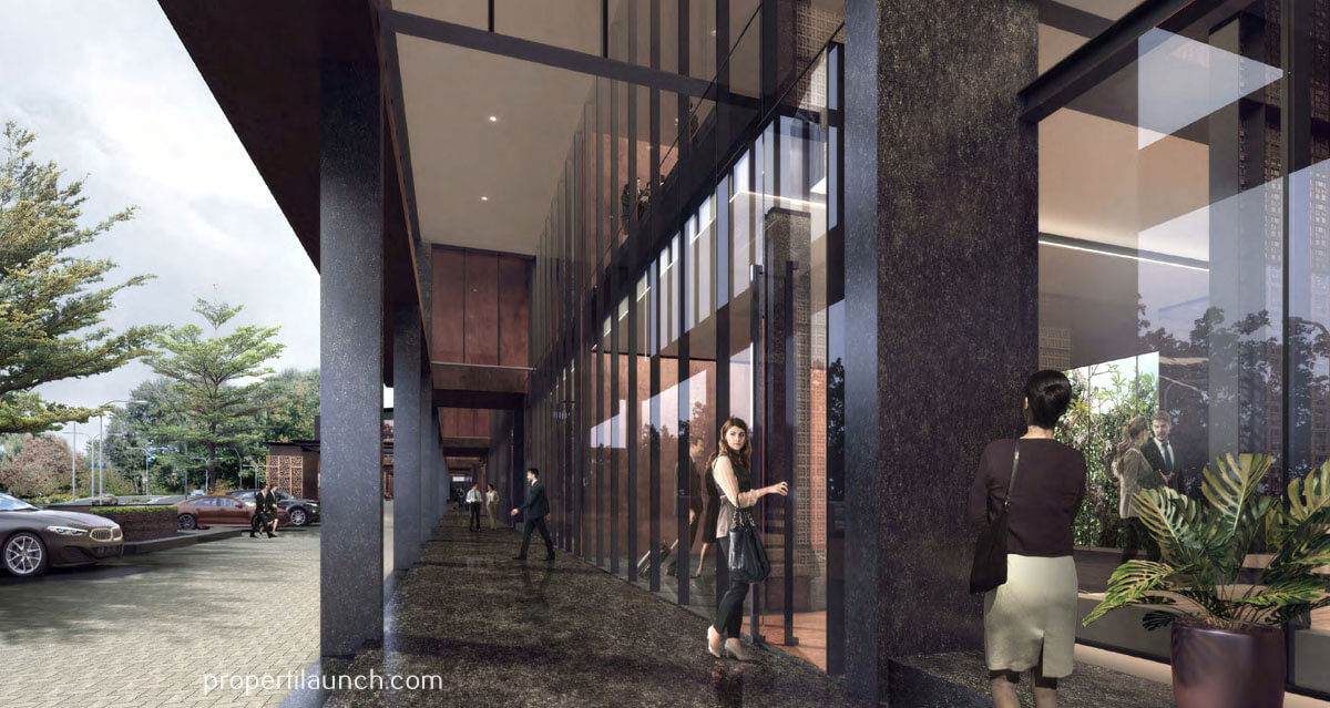 Capital Cove Business Loft BSD - Grand Entrance