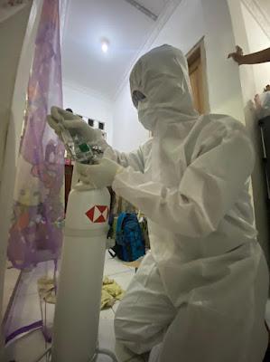 Bantu Pasien Covid-19, Rumah Zakat bersama HSBC Berikan Peminjaman Tabung Oksigen Gratis