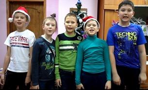 Ребята из поселка Светлый Саратовской области