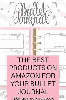 Shop these affordable products for starting a bullet journal. These products will give you loads of ideas for the layout and design of your weekly spread.