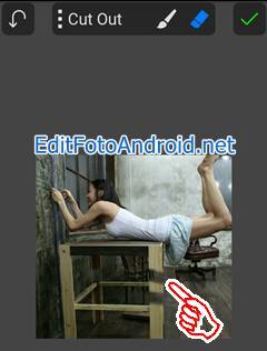 Aplikasi Edit Foto Melayang di PicSay Pro 4