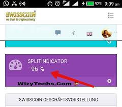 Swisscoin Split indicator