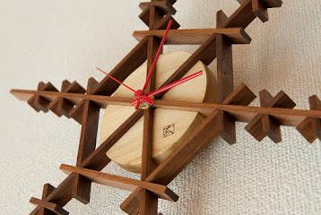 クリスマス限定商品クロック snow crystals clock