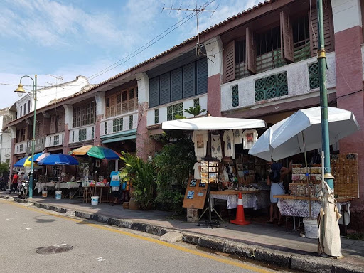 Shophouses at Lebuh Armenian in Georgetown Penang