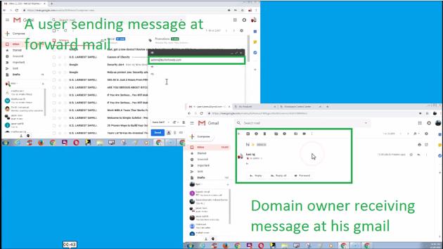 godaddy-forward-email-testing