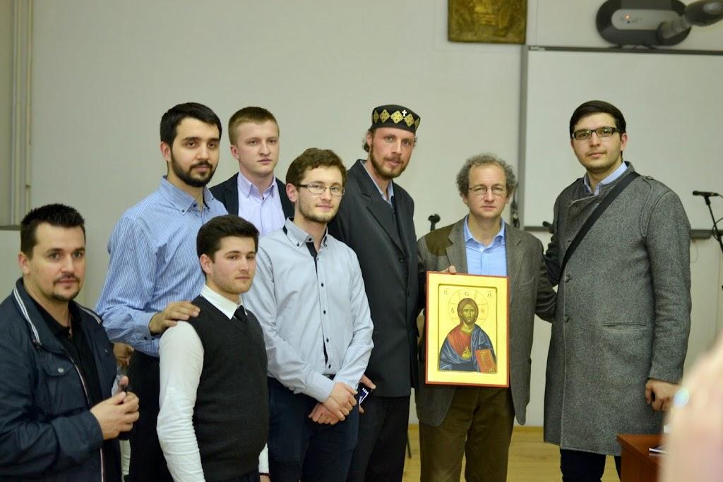 Conferinta Despre martiri cu Dan Puric, FTOUB 254