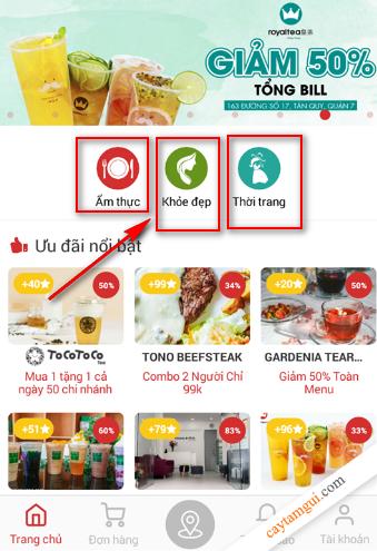 Meete - Ứng dụng săn mã giảm giá ẩm thực (Highland, Royal, BBQ, Buffet, v.v..)
