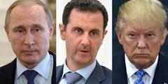 Trump Putin Assad