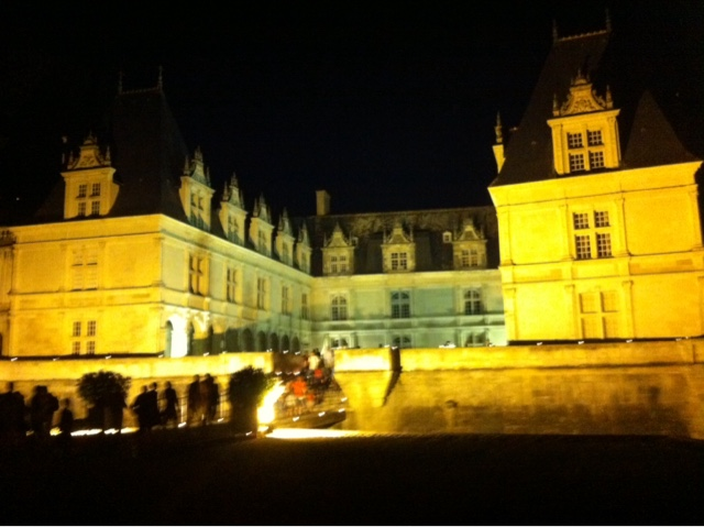 Villandry by night
