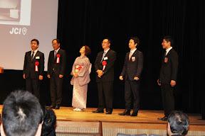 (社)松江青年会議所創立55周年にて