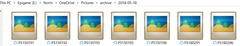 Photo place holders in OneDrive after the photo is archived to the cloud