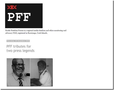PFF new website