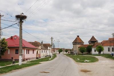 Kirchenburg  in Cata