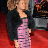 WWW.ENTSIMAGES.COM -   Fleur East    at      The Hunger Games - Mockingjay - part 1 - UK film premiere at Odeon Leicester Square, London November 10th 2014Premiere of latest film in the Hunger Games franchise, which this time sees Katniss lead a rebellion against the tyrannical and corrupt Capitol.                                              Photo Mobis Photos/OIC 0203 174 1069