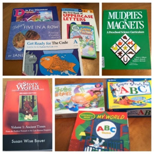 homeschool preschool curriculum, learning letters, homeschool prek