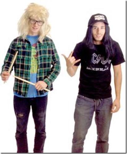 Wayne y Garth de El Mundo de Wayne 6
