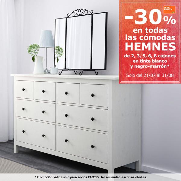 Hogar 30 ikea comodas hemnes - Ikea mesillas y comodas ...