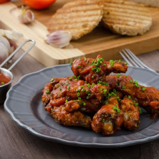 Sticky and Zesty Chicken Wings
