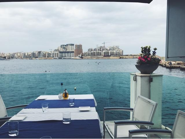 Valletta, ancient city, Malta, Scoglitti fish restaurant