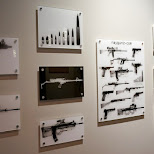 X-ray scans of weapons at lock & load Miami in Miami, Florida, United States