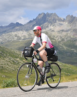 On the BRA in French Alps, on the Col de la Croix de Fer