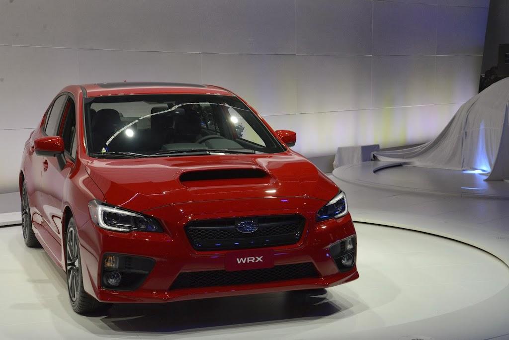 2015 Subaru WRX Los Angeles Auto Show 1