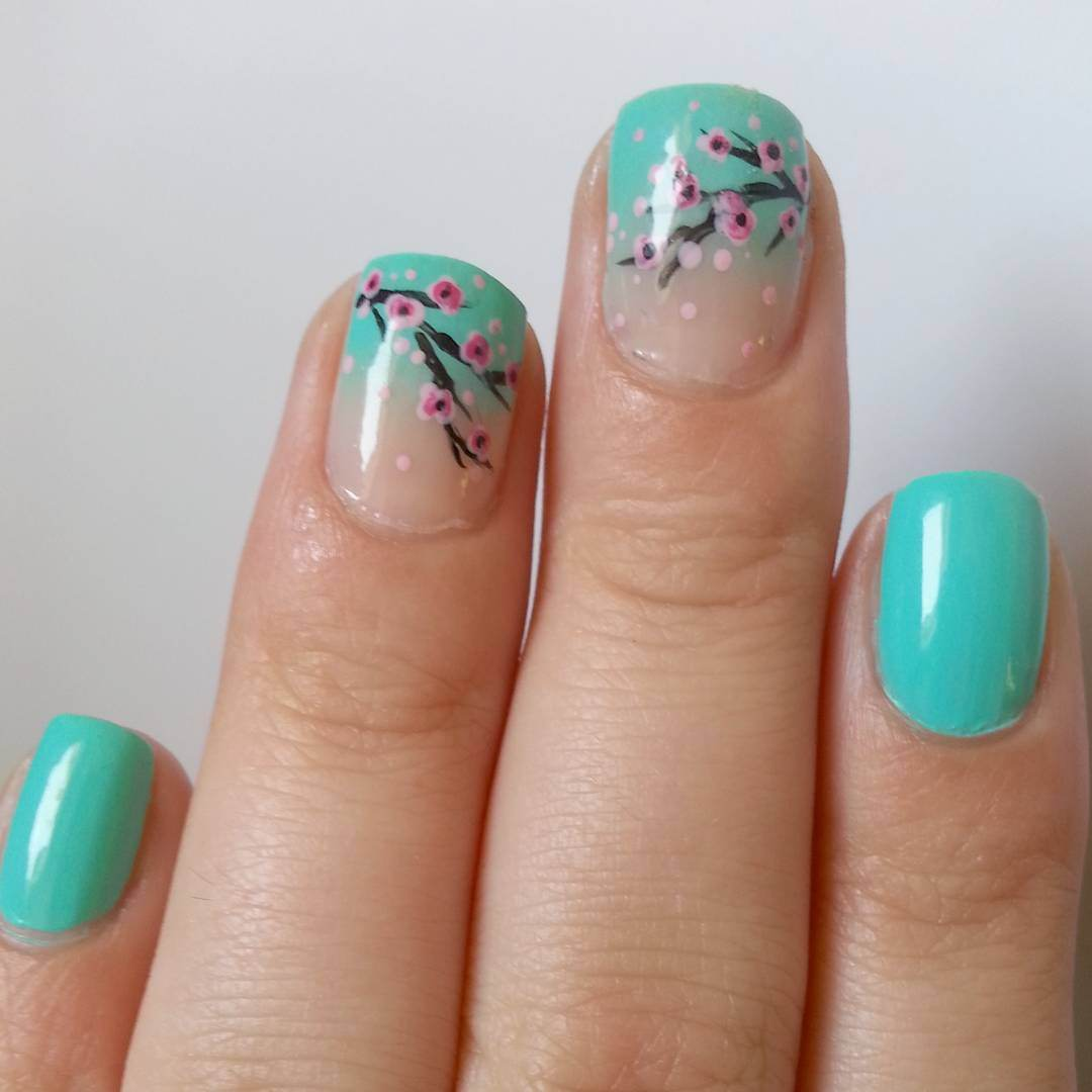 Summer Acrylic Nail Art Design 2017