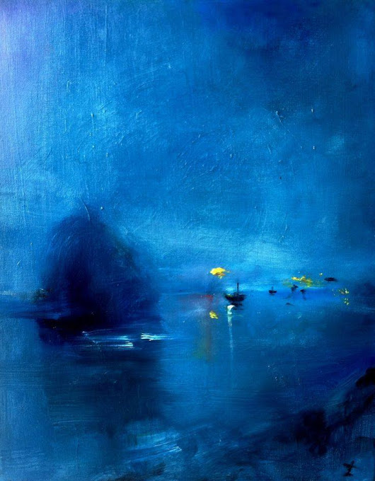 Zachary Johnson - Harbour in Blue