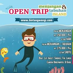 Open Trip: Pulau Menjangan, Bali – Pulau Tabuhan (1H)