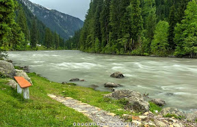 Streams of Neelam Valley Taobat Azad kashmir Pakistan.