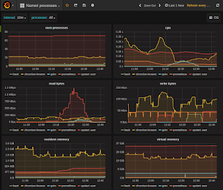 Is there any process level monitoring that prometheus can do