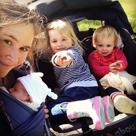 adjusting to life as a mum of 3