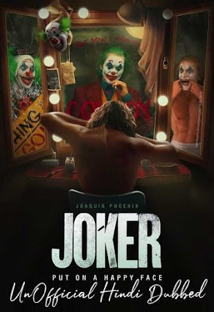 Poster Of Joker In Dual Audio Hindi English 300MB Compressed Small Size Pc Movie Free Download Only At worldfree4u.com