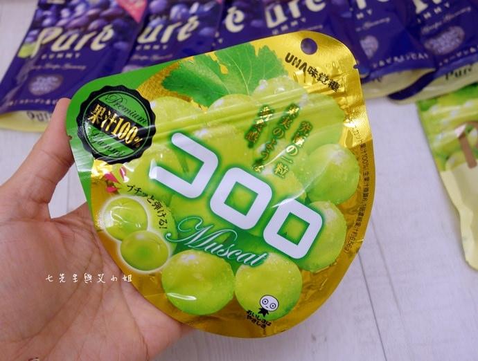34 日本人氣軟糖推薦 UHA味覺糖 KORORO pure 甘樂鮮果實軟糖