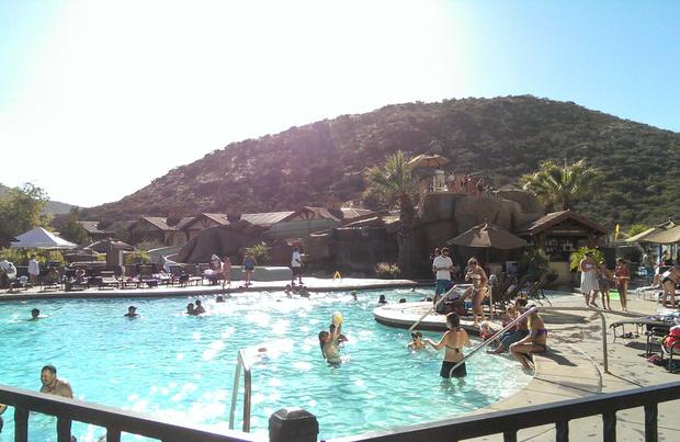 photo of the pool at the resort