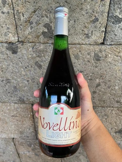 A bottle of Novellino Wines Rosso Classico Light