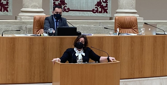 Henar Moreno Parlamento La Rioja