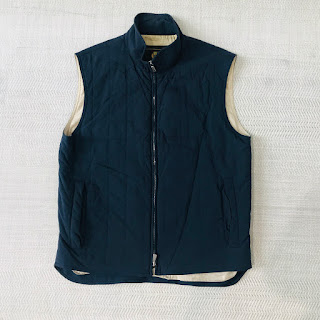 Loro Piana Navy Blue Vest