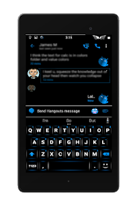 Blak Azurro  CM12-13 Theme screenshot 20