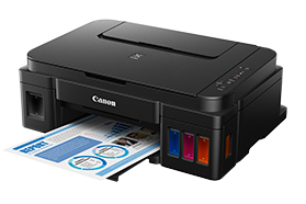 Reset Canon G2100 printer's Ink Pad at the end of it service life error