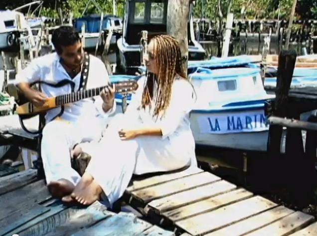 Amanda y Ariel - La Marina - Video Clip. Terely Vigoa - Eduardo Batistapu - Héctor Falagán De Cabo