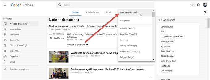google-news-altra-lingua