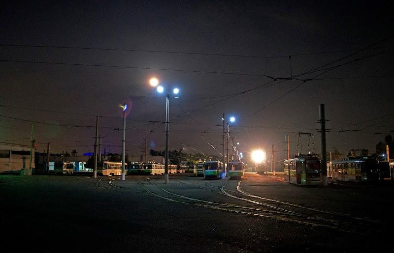 Последняя трамвайная фотосессия