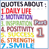Daily Inspirational Quotes. ( Part1 ) FREE 2018