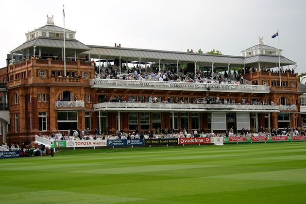 Victorian era pavilion at Lord's