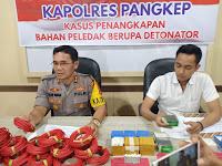 3 Warga Makassar di Tangkap Polres Pangkep, Kedapatan Bawah Bahan Peledak.
