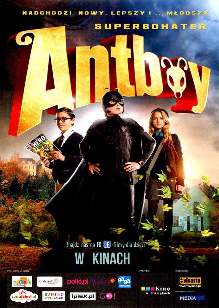 Ulotka filmu 'Antboy (przód)'