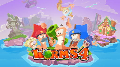 Worms 4 V1.0.419806 Mod Apk + Data (Unlimited Money)