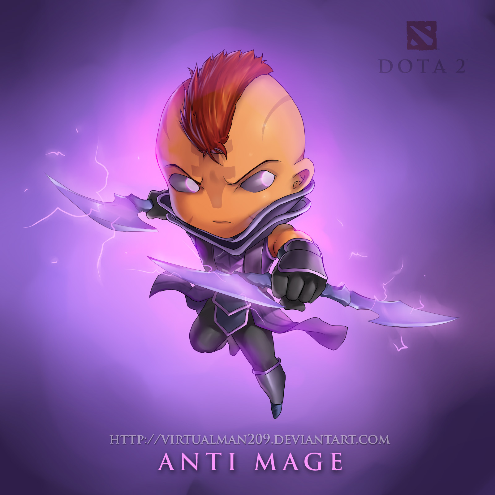 Anti-Mage Wallpapers Dota 2 HD Wallpapers #5