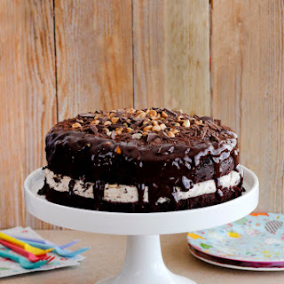 Snickers Chocolate Cake.